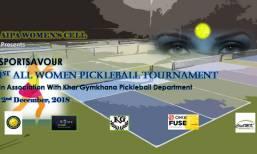 1st Women's Doubles Pickleball Tournament 2018