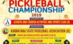 2nd State Level Pickleball Championship