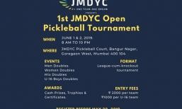 JMDYC Open Pickleball Tournament