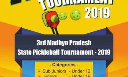3rd Madhya Pradesh State Pickleball Tournament 2019